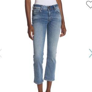 Hudson Ginny Crop Straight Leg Jeans